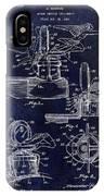 Packard Hood Ornament Blue IPhone Case
