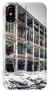 Packard Plant Detroit Michigan - 12 IPhone Case