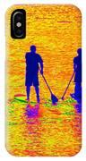 Paddle Board Paradise IPhone Case