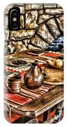Padre's Table By Diana Sainz IPhone Case
