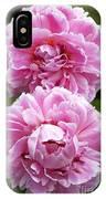 Paeonia Lactiflora 'sarah Bernhardt' IPhone Case