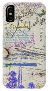 Page From The Madwoman's Notebook IPhone Case