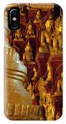 Pagoda And Buddhist Statues IPhone Case