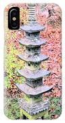 Pagoda In Autumn IPhone Case