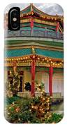 Pagoda In Norfolk Virginia IPhone Case