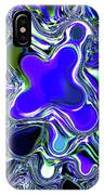 Paint Ball Color Explosion Blue IPhone Case