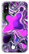 Paint Ball Color Explosion Purple IPhone Case
