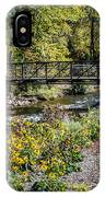 Paint Creek Bridge IPhone Case
