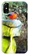 Painted Bullfinch S2 IPhone Case