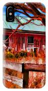 Painted Barn IPhone Case