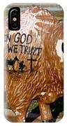 Painted Buffalo IPhone Case