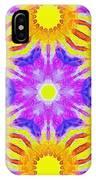 Painted Cymatics 161.66hz IPhone Case