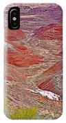 Painted Desert From Rim Trail In Petrified Forest National Park-arizona IPhone Case