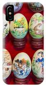 Painted Eggs In China Market IPhone Case