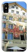 Painted House Fritschi IPhone Case