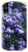 Painted Lilacs IPhone Case