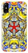 Painted Lotus Xiii IPhone Case