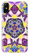 Painted Lotus Xvi IPhone Case