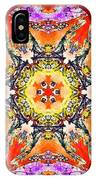 Painted Lotus Xvii IPhone Case