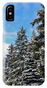Painted Pines IPhone Case