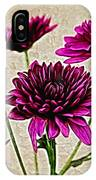 Painted Pink Bouquet IPhone Case
