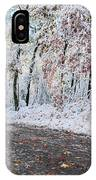 Painted Snow IPhone Case