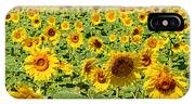 Painted Sunflower Field IPhone Case
