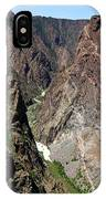 Painted Wall Black Canyon Of The Gunnison IPhone Case