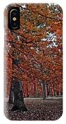 Painterly Style Autumn Trees IPhone Case