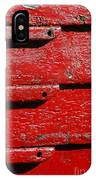 Painting It Red IPhone Case