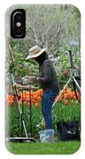 Painting Springtime  IPhone Case