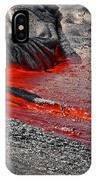 Painting The Town Red IPhone Case