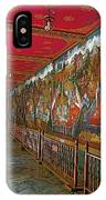 Paintings On Wall Of Middle Court Hallof Grand Palace Of Thailand IPhone Case