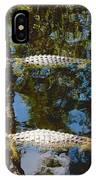 Pair Of American Alligators IPhone Case