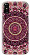 Paisley Hearts IPhone Case