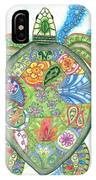 Paisley Sea Turtle IPhone Case