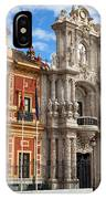 Palace Of San Telmo In Seville IPhone Case