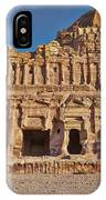Palace Tombin Nabataean Ancient Town Petra IPhone Case