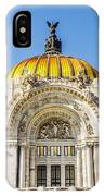 Palacio De Bellas Artes IPhone Case