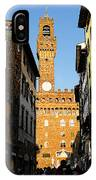 Palazzo Vecchio In Florence Italy IPhone Case