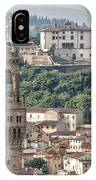Palazzo Vecchio Tower And Forte Belvedere IPhone Case