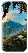 Pali Lookout For Puu Alii IPhone Case
