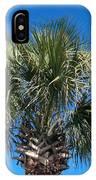 Palm Against Blue Sky IPhone Case