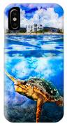 Palm Beach Under And Over IPhone Case