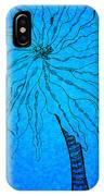Palm Blue IPhone Case