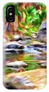 Palm Canyon Trail IPhone Case
