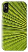 Palm Fron Abstract IPhone Case