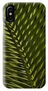 Palm Frond Patterns IPhone Case