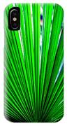 Palm Leaf 6687 IPhone Case