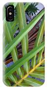 Palm Leaf Abstract IPhone Case